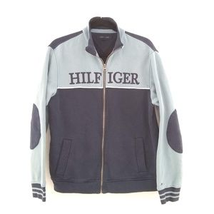 Tommy Hilfiger Logo Spell Out Zip Sweat Jacket, M